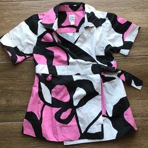 Like New! Gap/DVF Wrap Dress in 2T